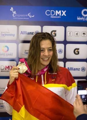 Nuevo oro y plata para Núria Marqués en los Mundiales de México