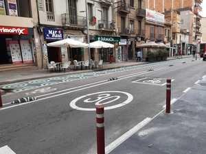 La carretera de Collblanc cambia de aspecto y se blinda parcialmente a los vehículos privados