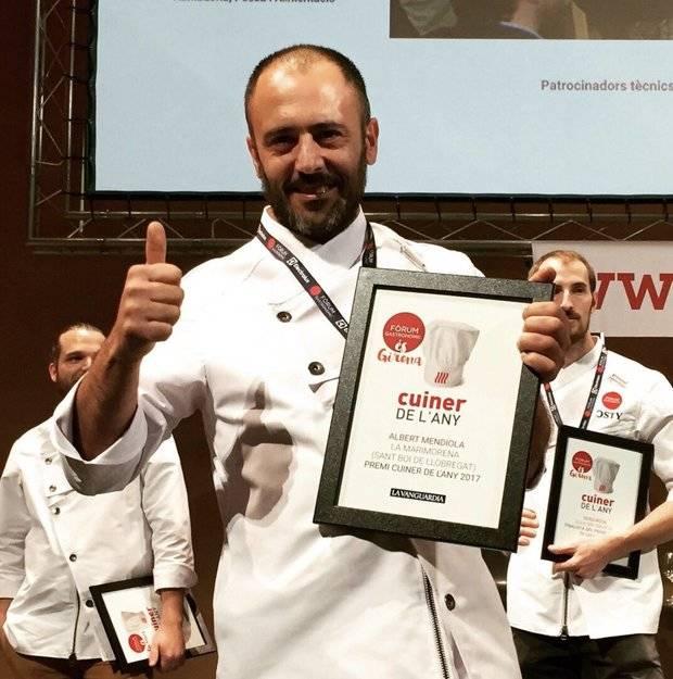 Albert Mendiola, nuevo 'Cocinero del Año 2017'