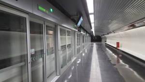 Una avaria d'un comboi paralitza la nova L9 del Metro entre Fira i Zona Universitària