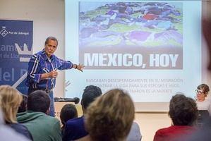 Conferencia sobre México en El Prat dentro del ciclo de 'Ciutats Defensores dels Drets Humans'.