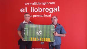 Dos vecinos de Sant Vicenç dels Horts, creadores del 'Mini fútbol' o 'Fútbol 7'