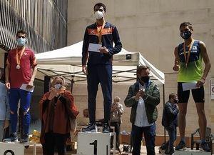 El atleta Miquel Doménech gana el Campeonato de Cataluña de Milla en Ruta