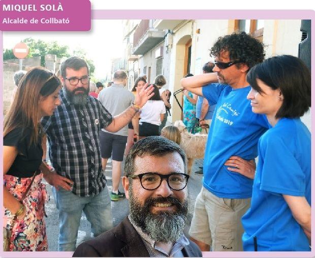 'Fora de context': Miquel Solà, alcalde de Collbató