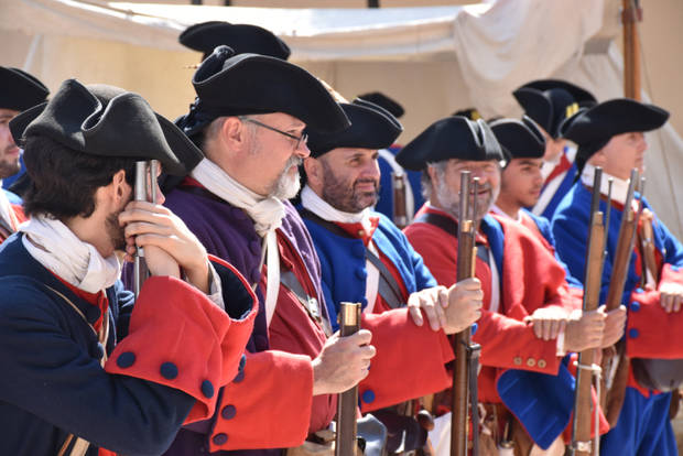 La Festa dels Miquelets traslada a Olesa a 1714