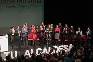 La alcaldable socialista de Castelldefels, María Miranda, presenta su candidatura con el apoyo de Miquel Iceta