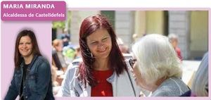 'Fora de context': María Miranda, alcaldesa de Castelldefels