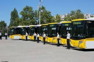 Aturades parcials de dia i de nit de la companyia d'autobusos Mohn SL