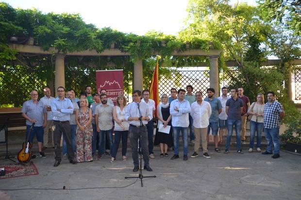 Los municipios del norte fijan el punto de partida de la nueva comarca de 'El Montserratí'