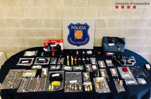 Detenidos tres hombres por robar en Olesa de Montserrat y otros municipios de Cataluña