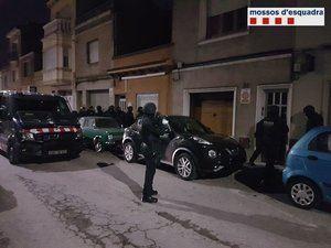 Operación de Mossos contra la banda motera 'Ángeles del Infierno' en toda la zona metropolitana