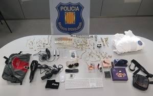 Detenido in fraganti un hombre mientras robaba en un domicilio de Esplugues de Llobregat