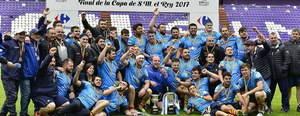 La UE Santboiana, campiona de la Copa del Rei de rugbi