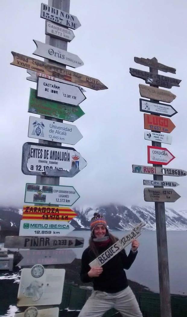 12.848 quilòmetres: Begues – Antàrtida