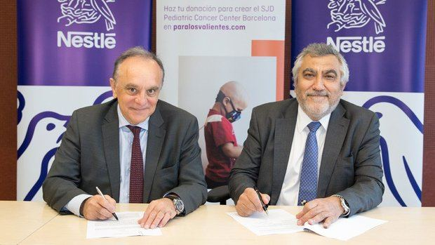 Nestlé se suma a la campaña #ParaLosValientes de Sant Joan de Déu para la construcción del Pediatric Cancer Center
