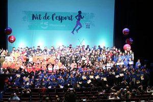Viladecans celebra la 26ª Nit de l'Esport en el Teatre Atrium con una nueva marca de ciudad