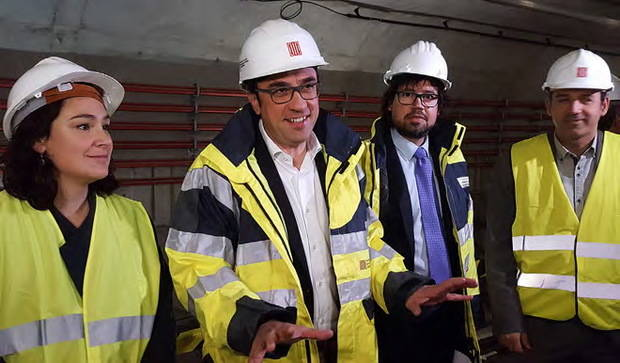 El tram sud de la L9 del Metro assoleix un 67% de la demanda estimada en el seu primer any