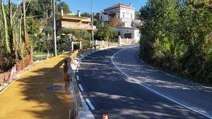 Sant Climent tendrá una acera de 300 metros en la carretera que le une a Sant Boi