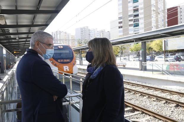 Bellvitge estrena la renovada estación de Renfe, más moderna y sin barreras arquitectónicas