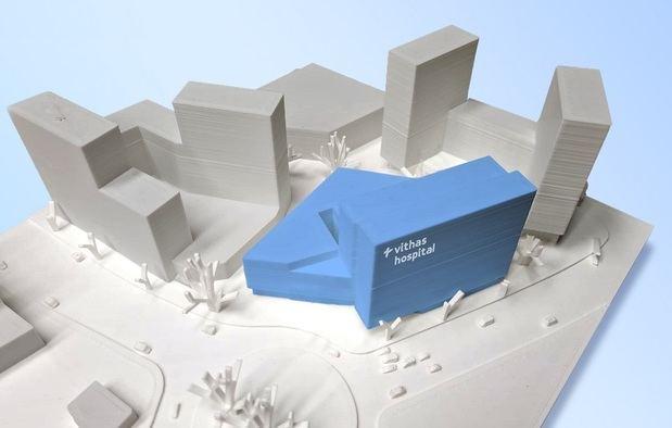 Vithas invertirá 60 millones de euros en la construcción de un nuevo hospital en Esplugues