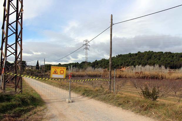 Castellví repara un tramo de 500 metros del camino de Ca n'Abat hasta la depuradora