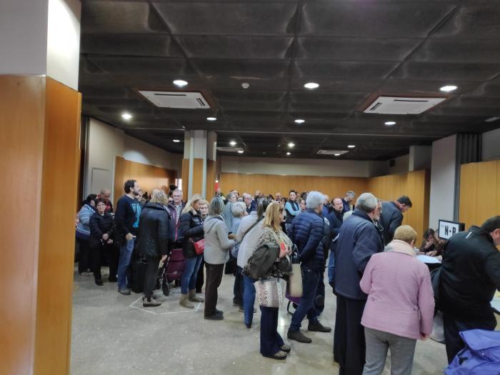 Los vecinos de Santa Eulàlia y Granvia Sud escogen el Gasómetro para ubicar el polideportivo