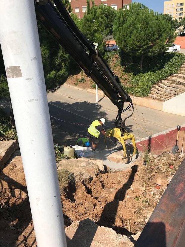 Obras de mejora realizadas en el municipio tras las fuertes lluvias del 17 de agosto.