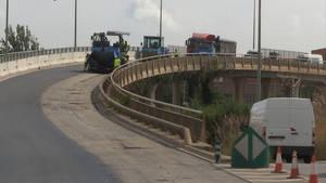 El puente de la C-234 de Gavà tendrá nuevo pavimento sonoreductor