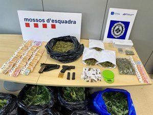 Desmantelados cuatro pisos con plantaciones de marihuana en un mismo bloque de El Prat
