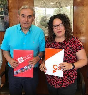 PSC y Ciudadanos reeditan el acuerdo del pasado mandato para gobernar Sant Andreu