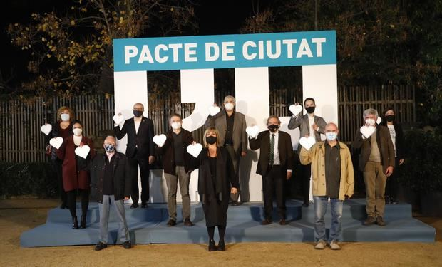 L'Hospitalet inicia el camino de la recuperación tras el covid-19 con el nuevo Pacto de la Ciudad
