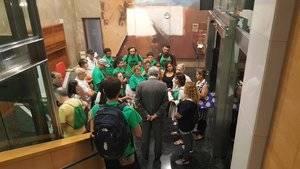 La PAH arrenca una reunió per abordar la cessió urgent de pisos buits