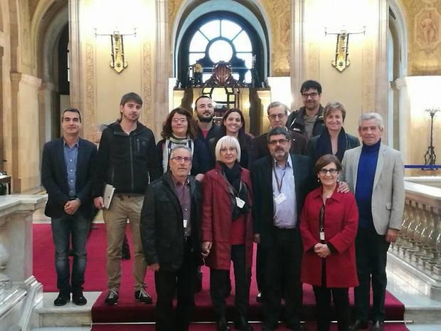 El CECBLL entrega les conclusions del congrés 'El Baix Llobregat a debat' als diputats parlamentaris del territori