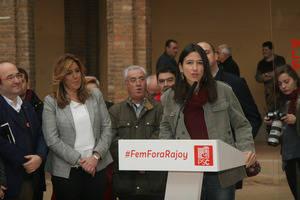 Núria Parlón reúne en Sant Boi a la plana mayor del PSC
