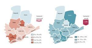 El Baix Llobregat es la comarca de Barcelona que más reduce su paro en el último año