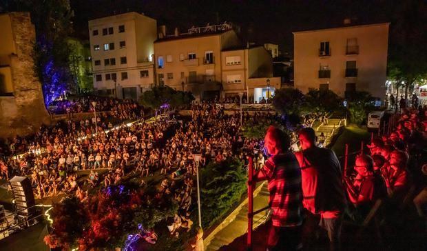La escenografía del festival ha sido un punto a favor para el éxito del mismo.
