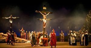 La Passió d'Olesa de Montserrat regresa con un espectáculo más expresivo y por streaming