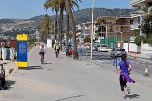 La remodelació del tercer tram del passeig Marítim de Castelldefels tancarà la circulació durant dos mesos