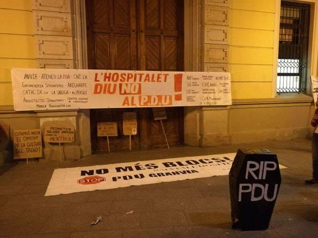 No Més Blocs vuelve a la calle contra el PDU de la Granvia de L'Hospitalet