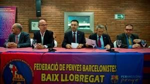 El Barça presenta el projecte 'Socis fem Penya' a les Federacions del Baix Llobregat