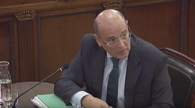 Pérez de los Cobos declara como testigo.