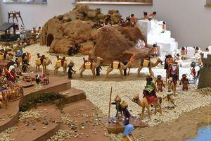 El Pesebre de Playmobil toma el Edificio de la República de Castelldefels