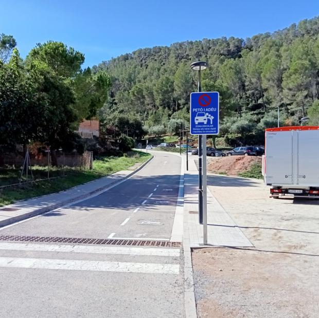 La zona 'Petó i adeu' de Castellví entrará en servicio el 14 de octubre