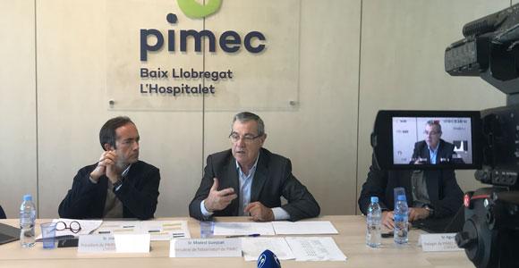 """El estudio de PIMEC muestra una """"tendencia positiva"""" de las pymes en la comarca"""