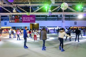 Unes 85.000 persones visiten la pista de gel de La Farga de L'Hospitalet en només dues setmanes