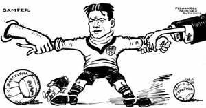 L'exposició 'Gols de tinta. Futbol i vinyetes a Catalunya des de 1985 fins avui' estarà al Museu de Sant Boi fins el 14 de maig