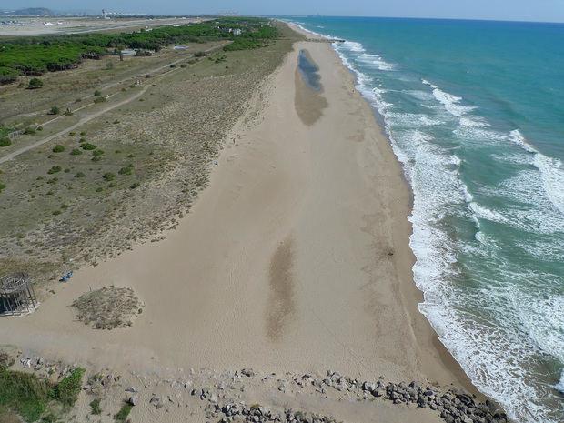 El litoral de Viladecans, en peligro