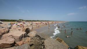 La Playa de la Pineda de Viladecans, una de las mejor valoradas del área metropolitana por sus visitantes