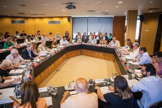 Pleno estraordinario celebrado este 31 de julio donde se ha aprobado el nuevo cartapacio metropolitano