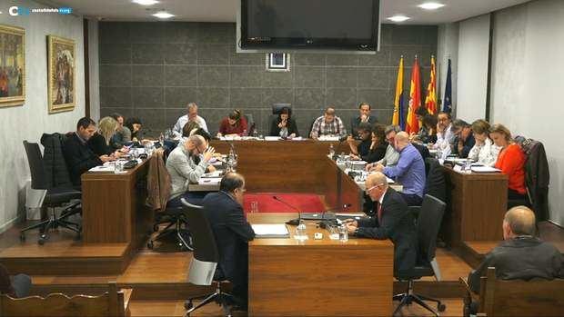 Pleno municipal del Ayuntamiento de Castelldefels